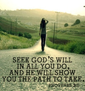 Seek God's Will Pic