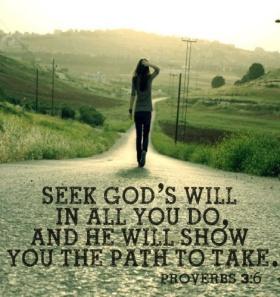Seek God's Will Pic