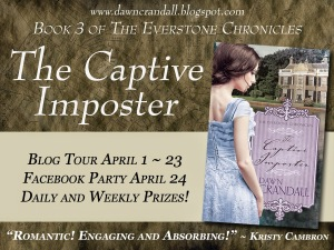 The Captive Imposter Kristy Cambron endorsed