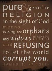 orphan post